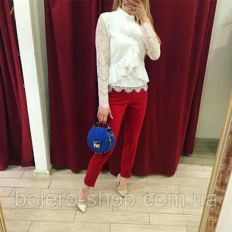 Женские штаны брюки красные, фото 2