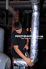 Алюминиевый скотч (фольгированный) 50 мм * 10 м.п., фото 7