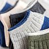 Mens Cotton Stripe Patchwork Невидимый Носки На открытом воздухе Спорт Нет Шоу Лодка Liner Тапки Тапки Носки - 1TopShop, фото 5