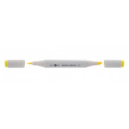 """Маркер """"Santi"""" sketch SM-05 желтый 390499, фото 2"""