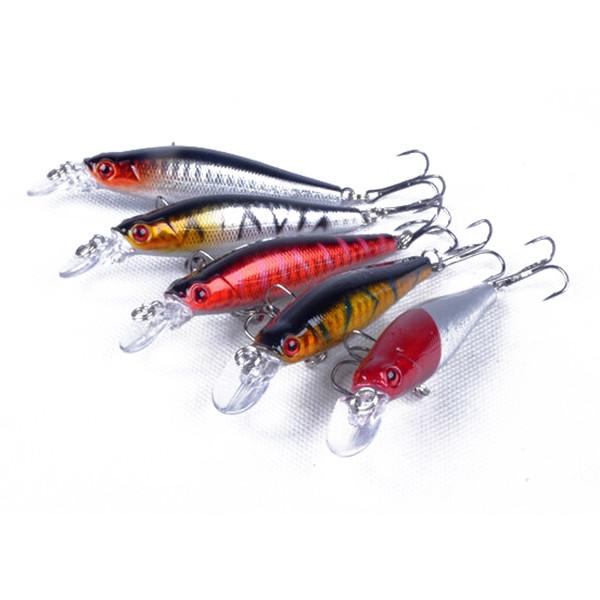 ZANLURE 5 шт Рыбалка Приманки Реалистичные крючки для дайвинга 8см - 1TopShop