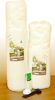 Защита гортензии от мороза с помощью сетки