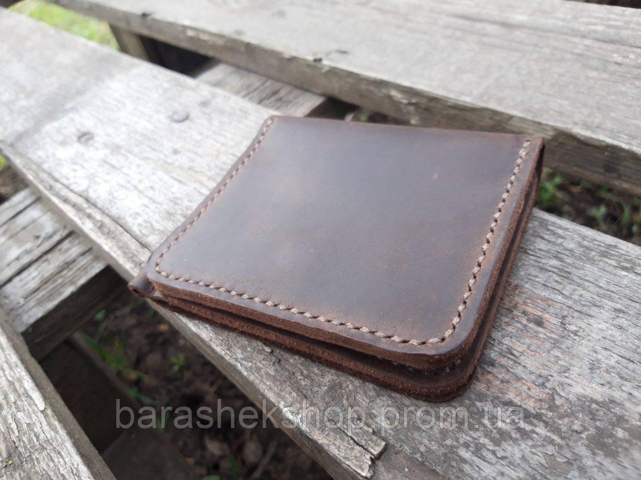 1839b450b70b Зажим для денег New York с фиксатором - Мастерская кожаных изделий
