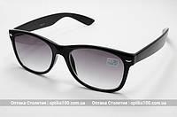 Очки для зрения в стиле Ray-Ban с тонировкой (с тёмными линзами)