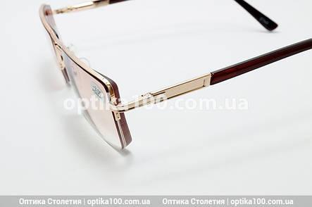 Тонированные мужские очки -2,5 для зрения с диоптриями, фото 2