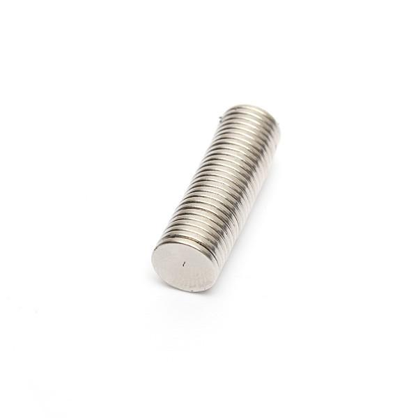 50PCS N40 8mmx1mm Круглый неодим - 1TopShop