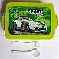 Контейнер для еды- ланч-бокс Sport car 13017