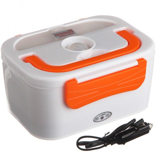 Ланч-бокс с подогревом от прикуривателя 12v Lunchbox 3066YY Оранжевый (nri-2191)