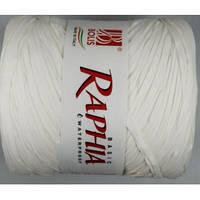 Рафия белая
