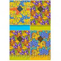 """Дневник В5 """"Цветы чтобы раскрасить настроение"""" в твердой обложке 18108-18110 (УКР), фото 1"""
