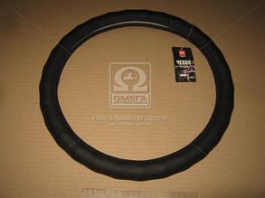Оплетка чохол на кермо чорний ДК Чохол на кермо чорний з перфорацією М ДК DK-M194BK