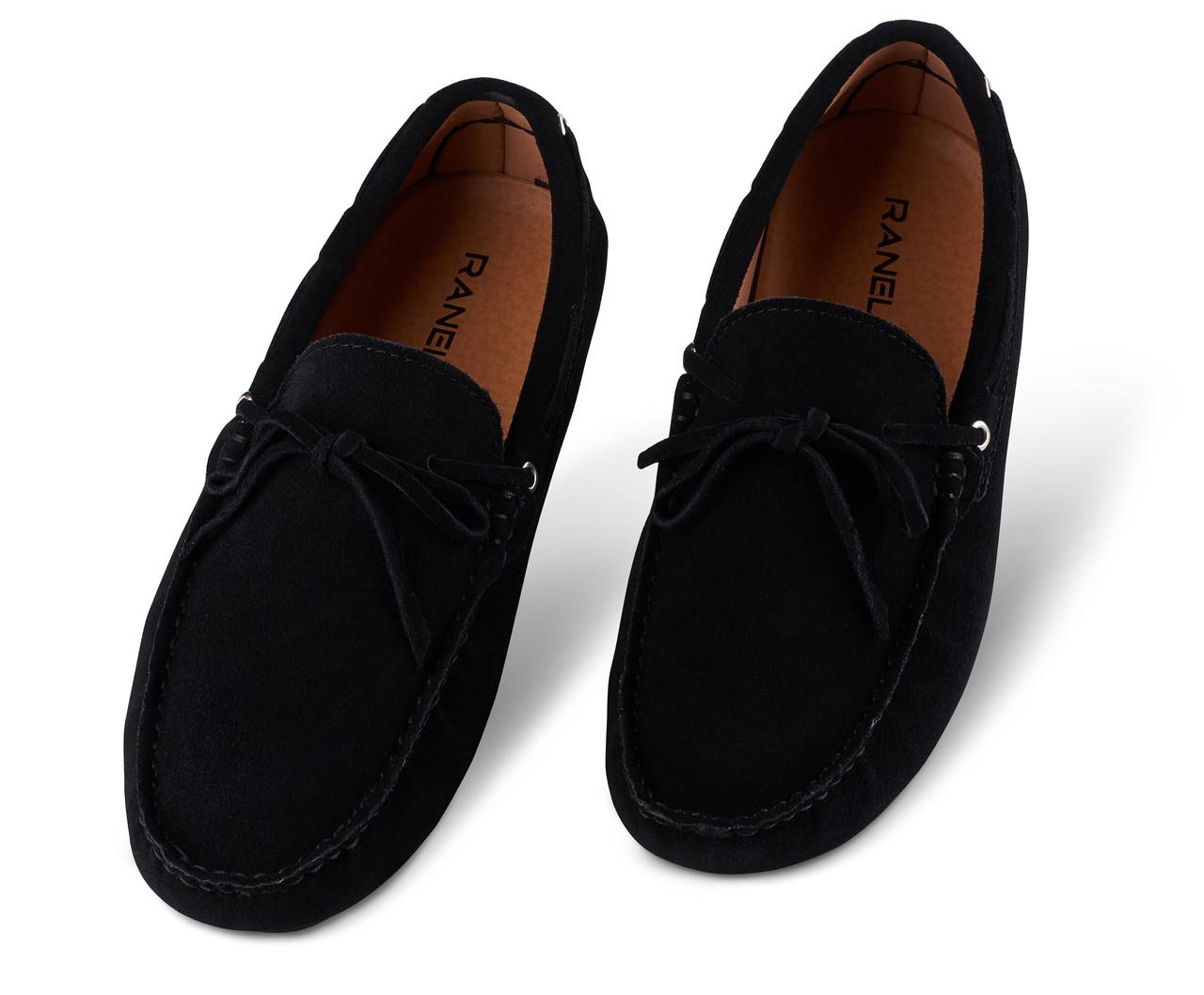 Мокасины мужские Ranelli 801040 черные