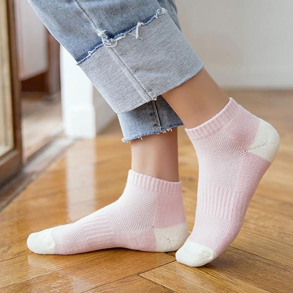 Женское Cottton Low Cut Ankle Носки На открытом воздухе Спортивный противоскользящий дышащий дезодорирующий носок - 1TopShop