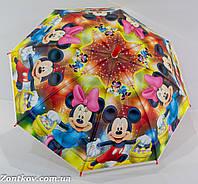 """Детский зонтик трость с мультяшными героями на 4-8 лет от фирмы """"Max"""""""