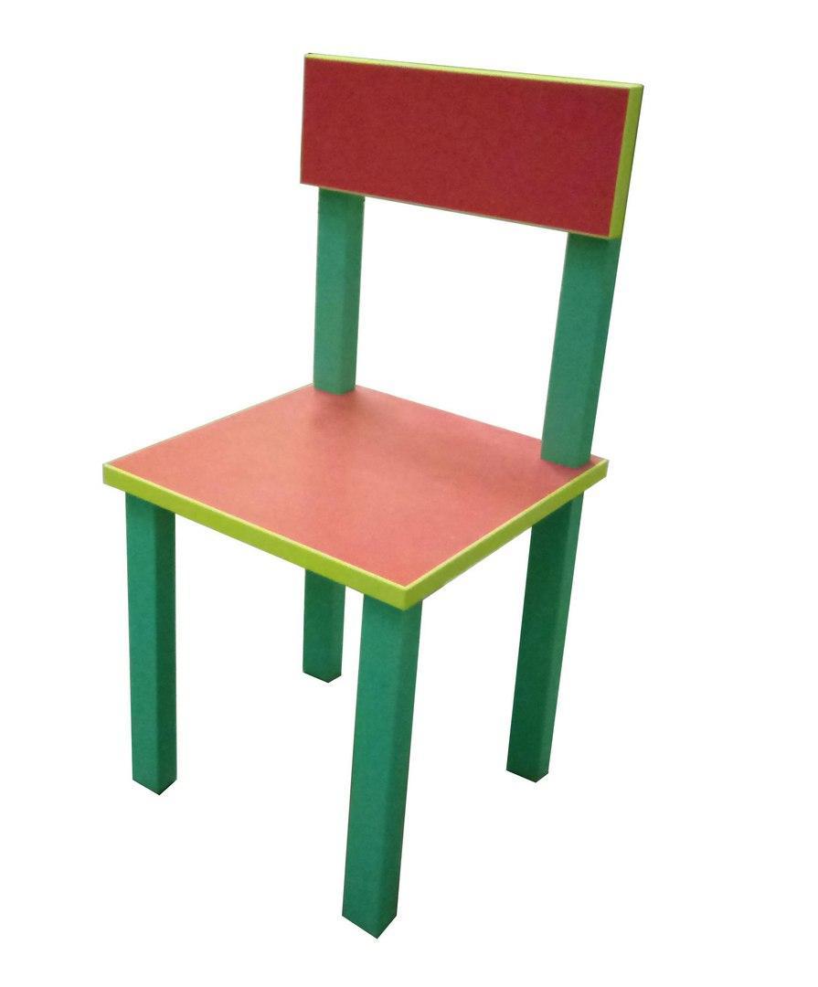 Детский стульчик Высота до сидения 30 см. Общая высота 60 см. С18