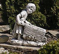 Садовая фигура Девушка с тележкой 45*24*51cm SS0691080-58