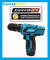 Шуруповерт аккумуляторный Grand ДА-12-2М Li-Ion