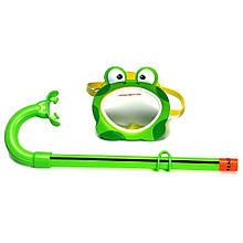 Маска для плавания Intex 55910 Лягушка гипоалергенная Зеленый (int55910-1)