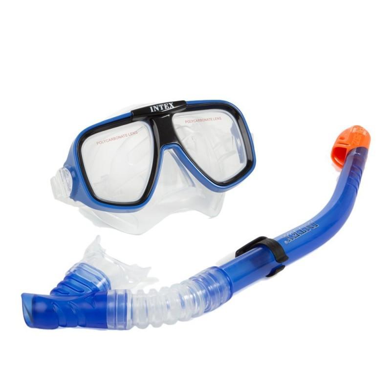 Набор для плавания Intex 55948 Спорт гипоалергенный Cиний (int55948)