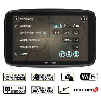 GPS-навигатор TOMTOM GO Professional 6250 WiFi EU (пожизненное обновление карт)