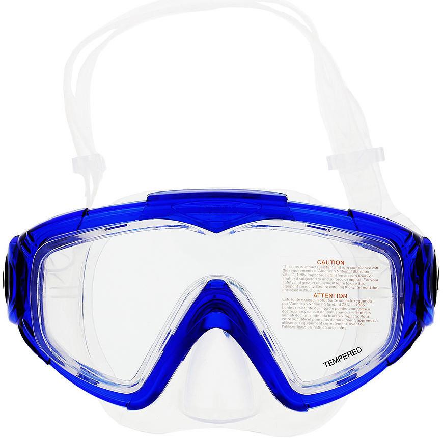 Маска для плавания в футляре Intex 55982 гипоалергенная Cиний (int55982-1)