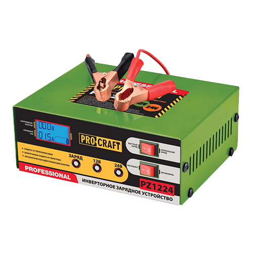 Інверторне Зарядний Пристрій Procraft PZ1224