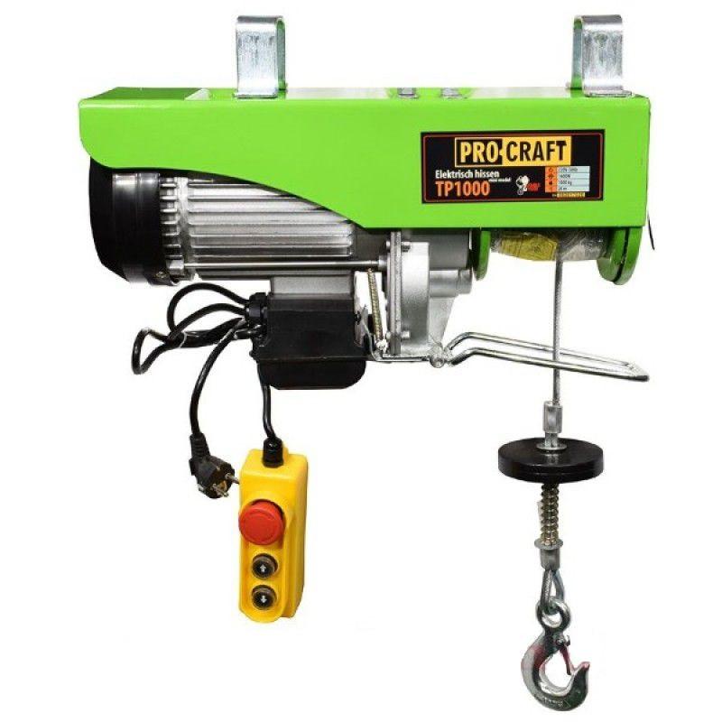 Підйомник Електричний Тельфер Procraft TP1000