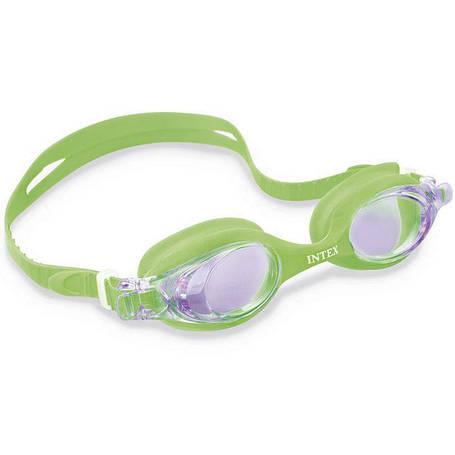 Очки для плавания Intex 55693 Зеленый, фото 2