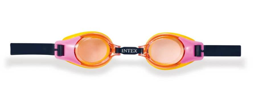 Очки для плавания  Intex 55601 с защитой от УФ-лучей гипоаллергенные (int55601), фото 2