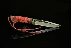 "Нож ""Охотник 2"" 142х30х4мм с ручкой из капа клена"