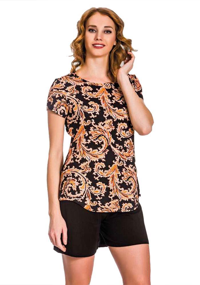 Комплект двойка шорты и футболка Турция