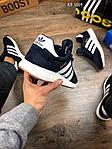 Мужские кроссовки Adidas Iniki Runner (синие), фото 2