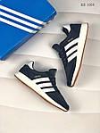 Мужские кроссовки Adidas Iniki Runner (синие), фото 4