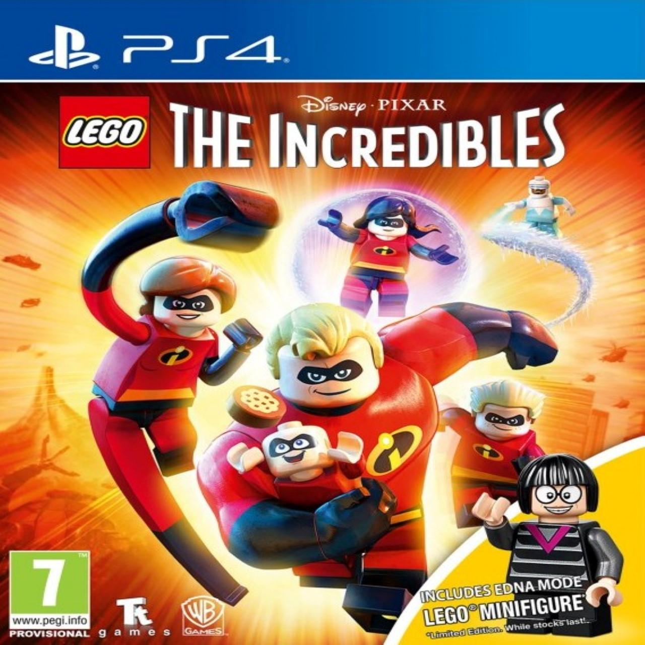 Lego Incredibles (російські субтитри) PS4