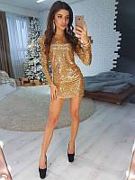 3be77f0acf4 Золотистые Платья — Купить Недорого у Проверенных Продавцов на Bigl.ua