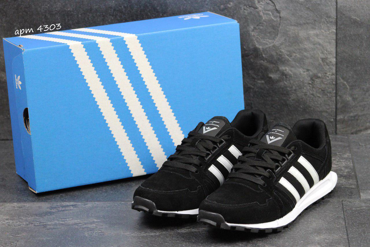 2f6a4c7a Мужские кроссовки Adidas Neo,замшевые,черные, цена 890 грн., купить ...