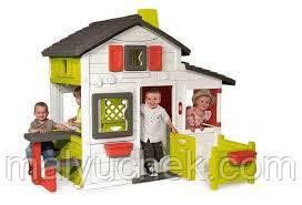 Игровой Домик c чердаком Friends House Floralie Smoby