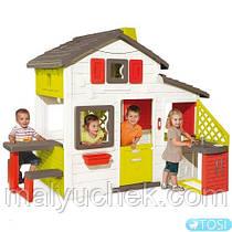 Smoby Игровой домик с кухней 810201 (смоби) в наличии