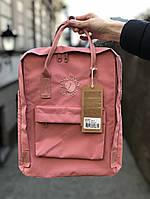 Рюкзак Fjallraven Kanken Classic (pink), рюкзак Канкен, розовый портфель канкен , фото 1
