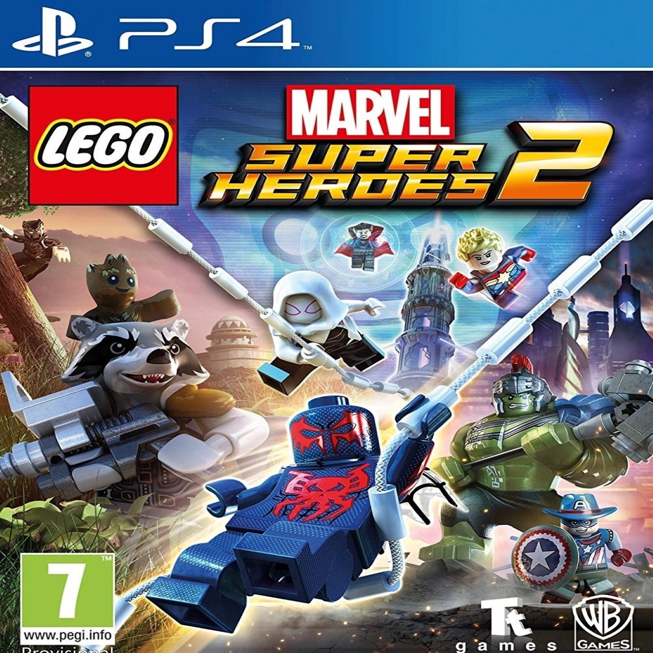 LEGO Marvel:Super Heroes 2 (русские субтитры) PS4