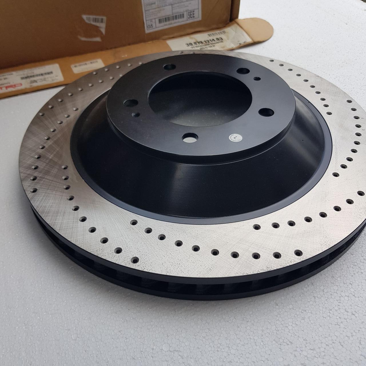 Диск тормозной передний левый TRD для BBK LC 200 / LX 570