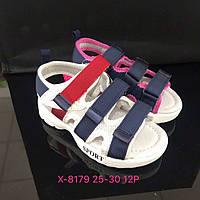 Детские сандалии на липучках для мальчиков и девочек оптом Размеры 25-30 микс