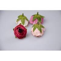 Цветок ранункулус 4 см. (красный)