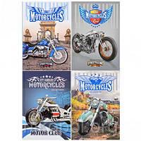 """Дневник В5 """"Стильные мотоциклы"""" в твердой обложке 18151–18152 18157-18158 (УКР), фото 1"""