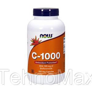 NOW Витамин Ц C-1000 with bioflavonoids (250 caps)