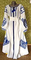 """Плаття в стилі бохо """"Ексклюзив"""" біле"""