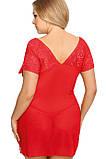 Эротическая женская сорочка для полных красная Anais Sydney, фото 2