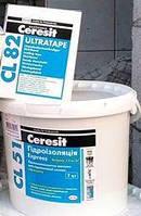 Комплект (гідроізоляційна мастика Ceresit CL 51/7kg + Лента Ceresit CL82 10 м пог)