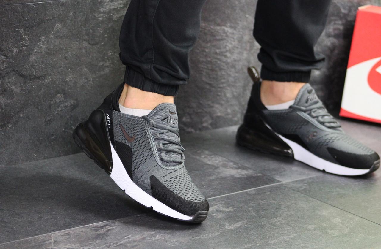 Мужские кроссовки Nike Air Max 270 (серые)