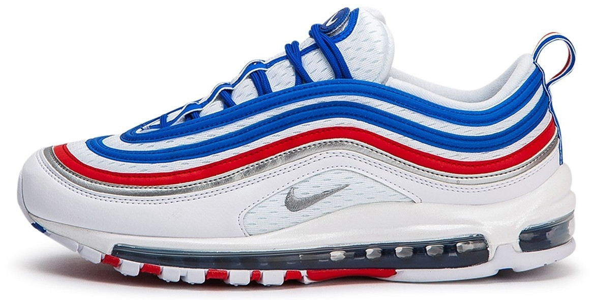 Кроссовки мужские Найк Nike Air Max 97 White Blue Red